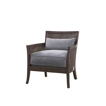 Universal Furniture Curated Gray Nina Accent Chair 687575 626 | Bellacor