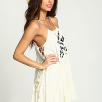 DESERT DREAMER TASSEL TIERED DRESS
