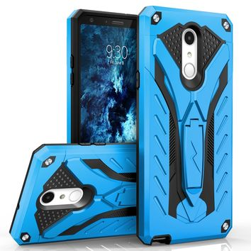 Zizo Static Case For LG Stylo 4 Military Grade Drop Tested + Built In Kickstand