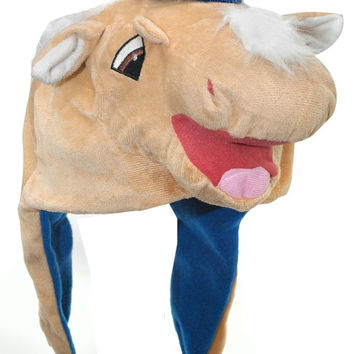 Texas Rangers Mascot Themed Dangle Hat