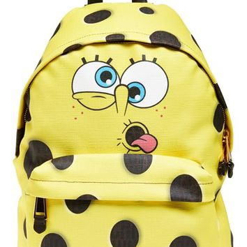 Women's Moschino 'SpongeBob' Backpack