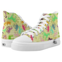 Strike a Unicorn Pose High-Top Sneakers
