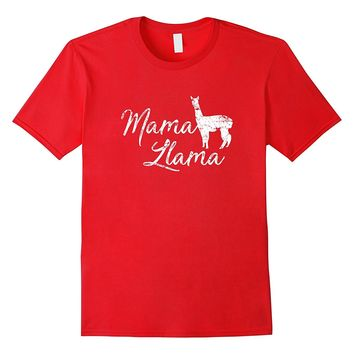 Mama Llama Shirt- Funny Cute Mother's Day Gift for Mom