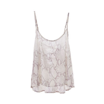 Olivaceous Womens Snake Tank