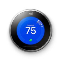 Nest® Learning Gen 3 Thermostat with Bonus Google Home Mini