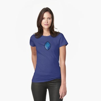 'Blue Diamond' Women's Relaxed Fit T-Shirt by ravencobain