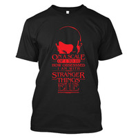 Stranger Things- On a scale of 1 to 10 how obsesssed i am with stranger things E11E -Men Short Sleeve T Shirt - SSID2016