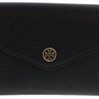 Tory Burch Landon Pebbled Expandable Crossbody Shoulder Clutch