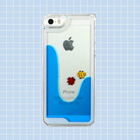 Liquid Fish Case - iPhone 5/ 5s / 6 - Blue / Pink / Yellow