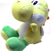 "Super Mario Brothers Yoshi Yellow Ver 6"" Plush"