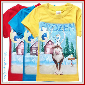 Frozen Olaf and Sven Top