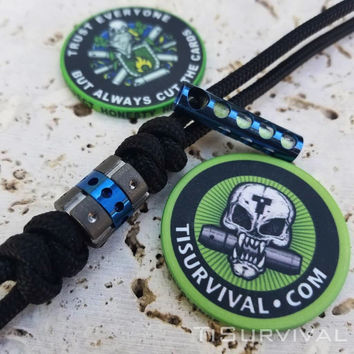 Ti Survival Poker Chips