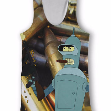 Bender Light 'Em Up Tank Top