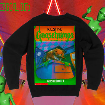 UNISEX Goosebumps Monster Blood II Hungry by fASHLINdotcom on Etsy