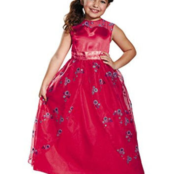 Disguise Elena Ball Gown Classic Elena of Avalor Disney Costume, Small/4-6X