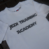 Jedi Training Academy T-Shirt. Star Wars Inspired. Add Your Child's Name.