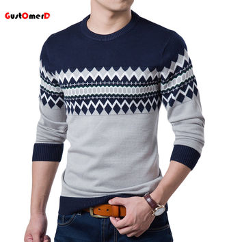 A/W Top Quality Men Slim Fit Sweater