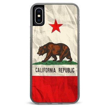 California Flag iPhone XR case
