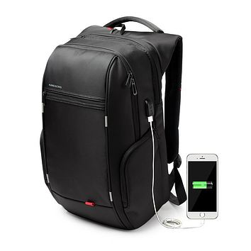 Kingsons Brand 13.3,15.6 17.3 inch Waterproof Anti-theft Notebook Computer Backpack for Men Women External USB Charge Laptop Bag