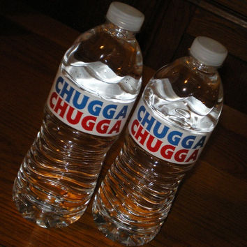 Chugga Chugga Printable Water Bottle Labels by namcgee on Etsy