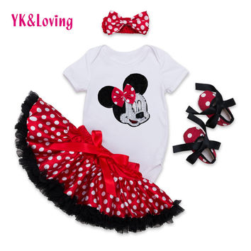 2016 New Baby Girl Sets Shirt Tops Shorts Ruffle Bloomer Girls Suits 4 pcs Christmas Clothes Sets Toddler White Baby Suit F5010