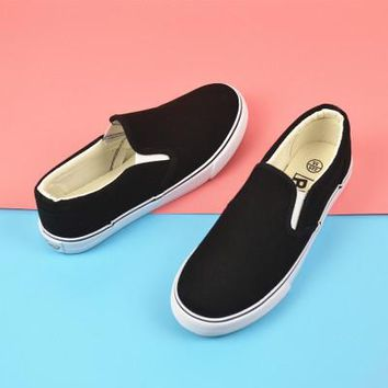 Canvas sneakers slip on, lace up and high tops ~ 3 styles!