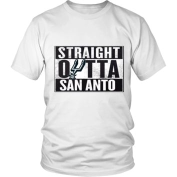 Spurs Straight Outta San Anto Tee