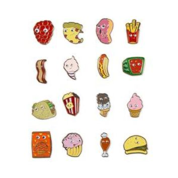 Yummy World Enamel Pin Blind Box Series