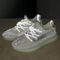 ADIDAS Yeezy 350 Boost V2 Woman Men Fashion Flats Sneakers Sport Shoes