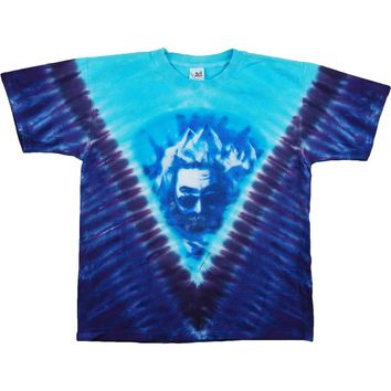 Jerry Garcia Men's  Tie Dye T-shirt Multi