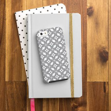Heather Dutton Starbust Grey Cell Phone Case