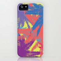 Palm tree C  iPhone & iPod Case by PINT GRAPHICS