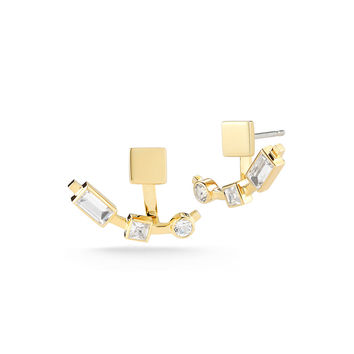 Dia Lewitt Jacket Earrings - Elizabeth and James