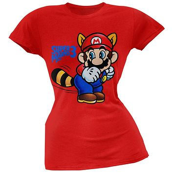 Nintendo - Super Mario 3 Tail Juniors T-Shirt