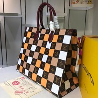 New LV Louis Vuitton M44571 Women's Leather Shoulder Bag LV Tote LV Handbag LV Shopping Bag LV Messenger Bags
