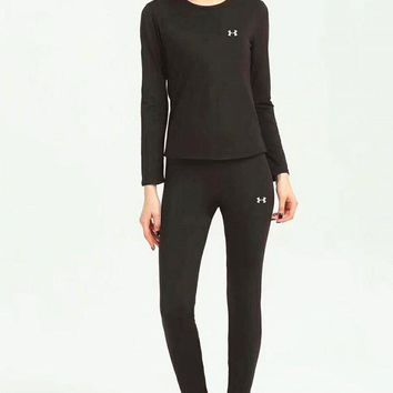 VXL8HQ UNDER ARMOUR Warm And Bottom Sports suit For Women B-ZDL-STPFYF