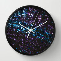 Night at the Roxbury Wall Clock by Intrinsic Journeys