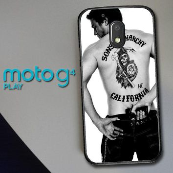 Paul Walker Sons Of Anarchy Tatto Z1499 Motorola Moto G4 Play Case