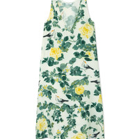 Tome Floral Sheath Dress - Silk Dress - ShopBAZAAR
