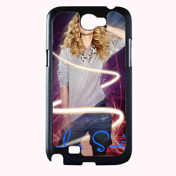 Taylor Swift Poster 5ac1d980-0305-4e5c-9c72-99c741f196af FOR SAMSUNG GALAXY NOTE 2 CASE**AP*