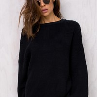 ack Alley Arcade Knit Jumper