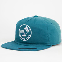Vans Dipped Mens Snapback Hat Blue One Size For Men 25073120001