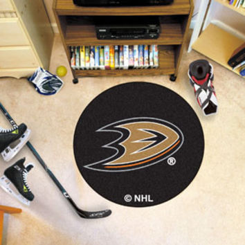 NHL Team Hockey Puck Mat