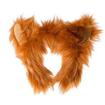 Wildlife Tree Plush Red Fox Ears Headband Accessory for Red Fox Costume, Cosplay, Pretend Animal Play or Forest Animal Costumes