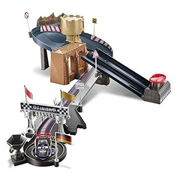 Disney/Pixar Cars Carbon Racers Double Lane Duel Track Set