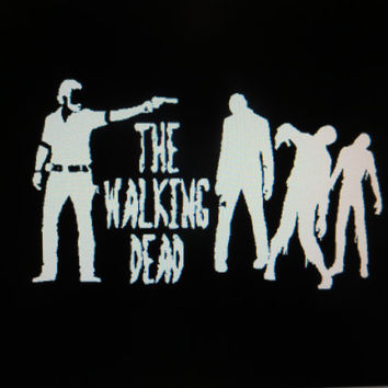 The Walking Dead vehicle auto window decal Rick Zombies