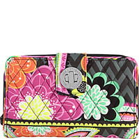 Vera Bradley Turn Lock Wallet - eBags.com