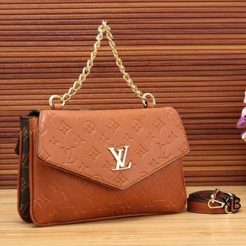Women Fashion New Leather Chain Satchel  Crossbody Shoulder Bag Handbag