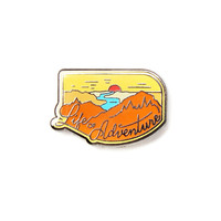 Life Of Adventure Lapel Pin