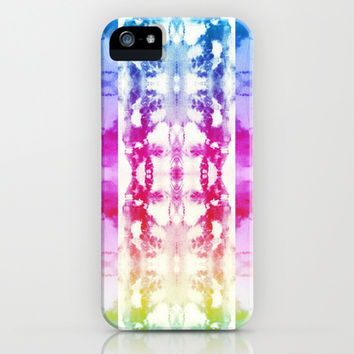 Tie Dye Rainbow iPhone & iPod Case by Nina May